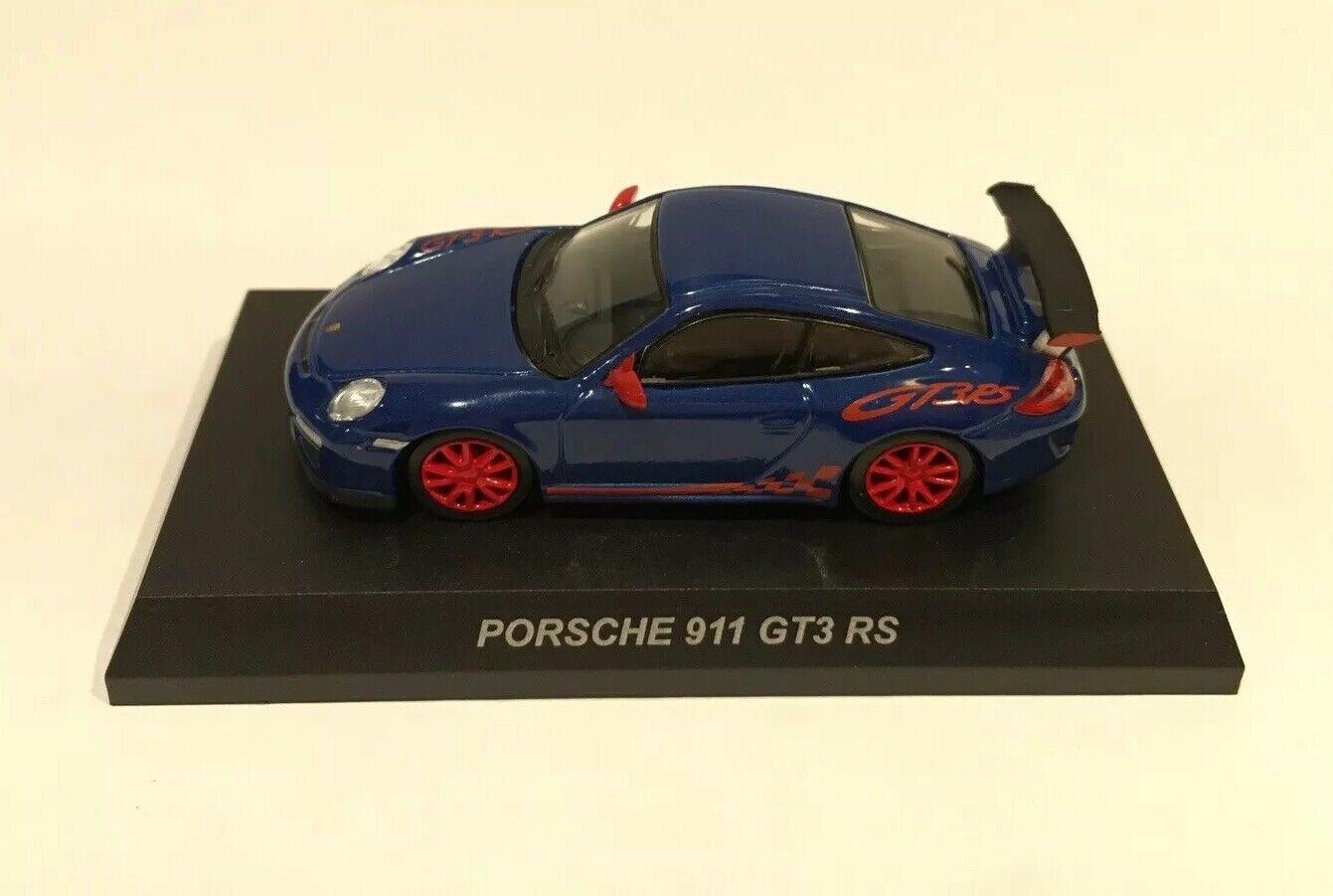 Kyosho 1 64 Porsche V Diecast Car Model 911 Gt3 Rs Blue King Crab Collectibles